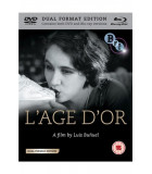 L`age D`or / Un Chien Andalou (1930)  (Blu-ray + DVD)