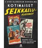 Kotimaiset Seikkailuklassikot (3 DVD)