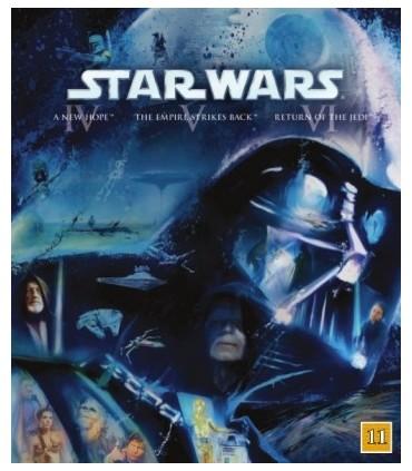 Star Wars: The Original Trilogy (3 Blu-ray)