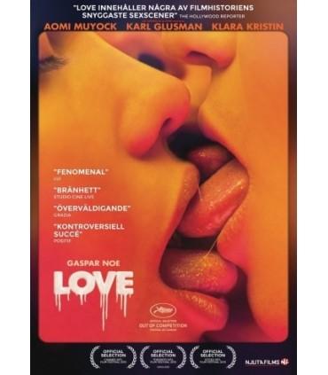 Love (2015) DVD