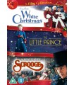 White Christmas (1954) / The Little Prince (1974) / Scrooge(1970) (3 DVD)