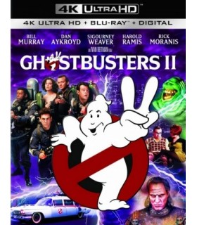 Ghostbusters II (1989) (4K UHD + Blu-ray)