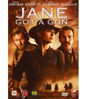 Jane Got a Gun (2016) DVD 29.8.