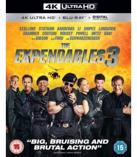 The Expendables 3 (2014) (4K UHD + Blu-ray)