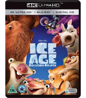 Ice Age: Collision Course (2016) (4K UHD + Blu-ray)