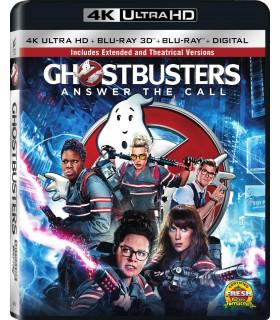 Ghostbusters (2016) (4K UHD + 3D / 2D Blu-ray)