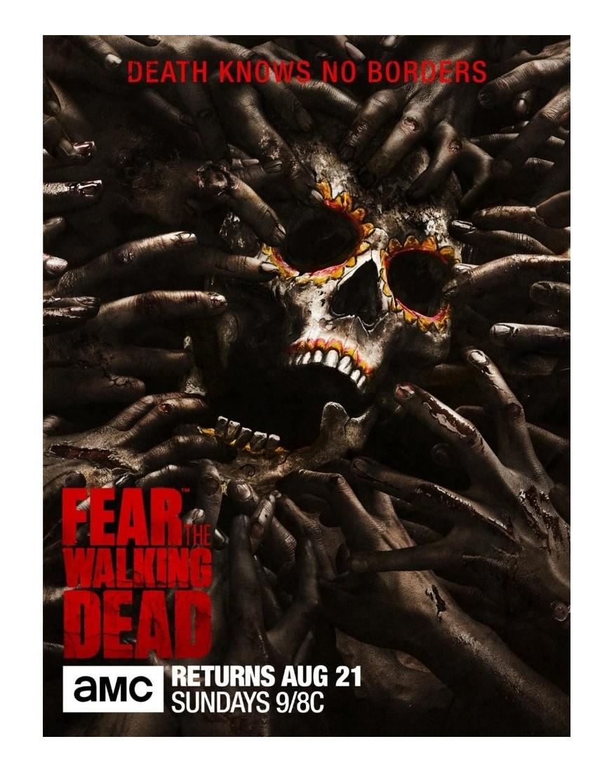 Fear The Walking Dead Season 2 2015 2 Blu Ray