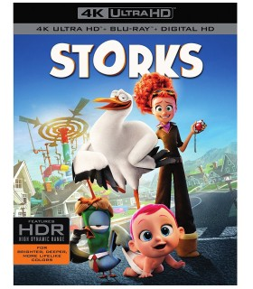 Storks (2016) (4K UHD + Blu-ray)