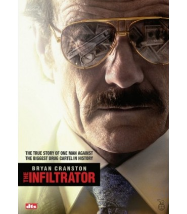 The Infiltrator (2016) DVD