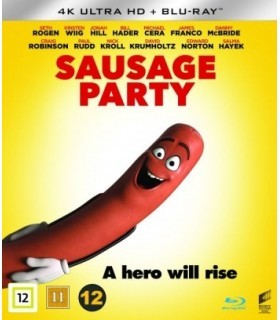 Sausage Party (2016) (4K UHD + Blu-ray)
