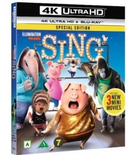 Sing (2016) (4K UHD + Blu-ray)