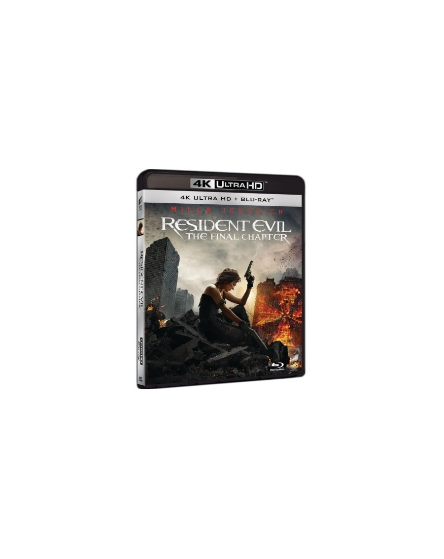 Resident evil the final chapter 2016 4k uhd blu ray - Resident evil final chapter 4k ...