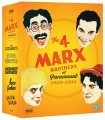 The 4 Marx Brothers At Paramount 1929 - 1933 Limited Edition (3 Blu-ray)