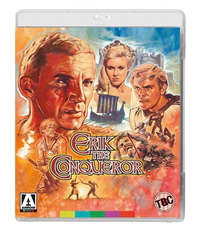 Erik The Conqueror (1961) (Blu-ray + DVD) 30.8.