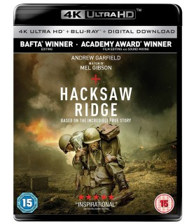 Hacksaw Ridge (2016) (4K UHD + Blu-ray)