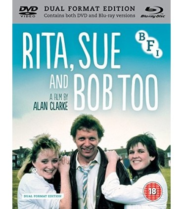 Rita, Sue and Bob Too (1987) (Blu-ray + DVD)