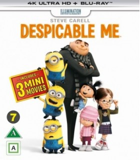 Despicable Me (2010) (4K UHD + Blu-ray)