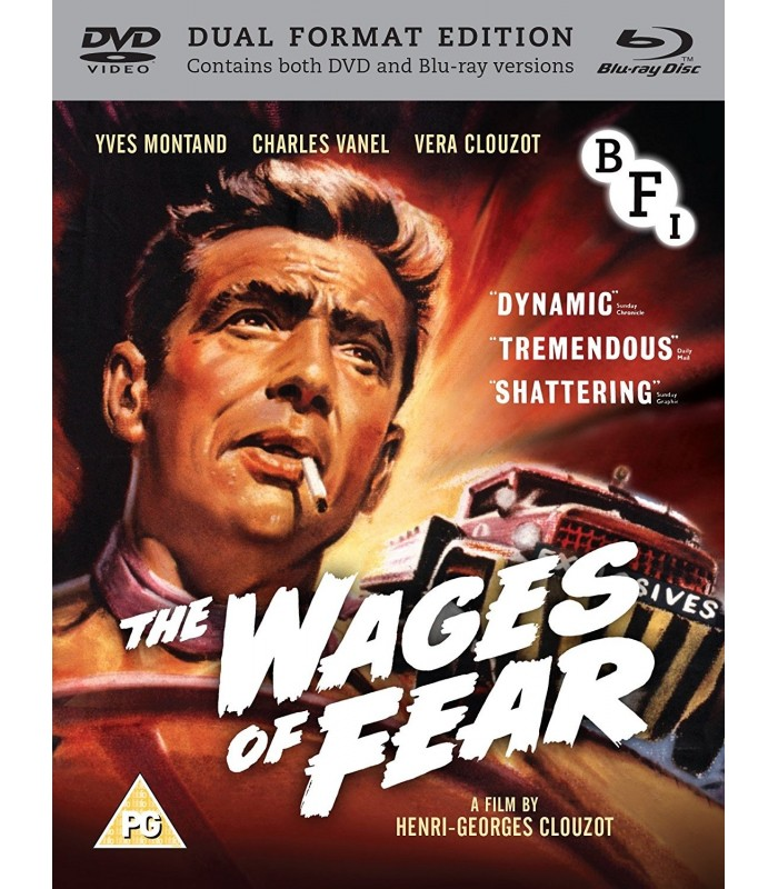 The Wages of Fear (1953) (Blu-ray + DVD)