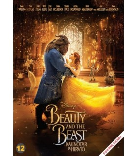Beauty and the beast - kaunotar ja hirviö (2017) DVD