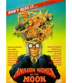 Amazon Women on the Moon (1987) Blu-ray