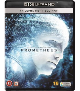 Prometheus (2012) (4K UHD + Blu-ray) 7.8.