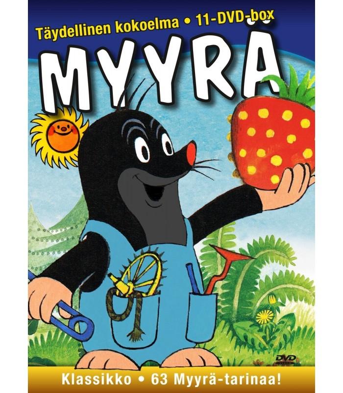 Myyrä - Täydellinen kokoelma (1957–2000) (11 DVD) 4.11.
