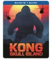 Kong: Skull Island (2017) Steelbook (3D + 2D Blu-ray)