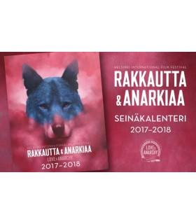 Rakkautta & Anarkiaa seinäkalenteri 2017-2018
