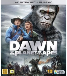 Dawn of the Planet of the Apes (2014) (4K UHD + Blu-ray)