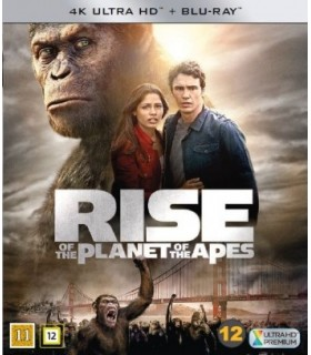 Rise of the Planet of the Apes (2011) (4K UHD + Blu-ray)