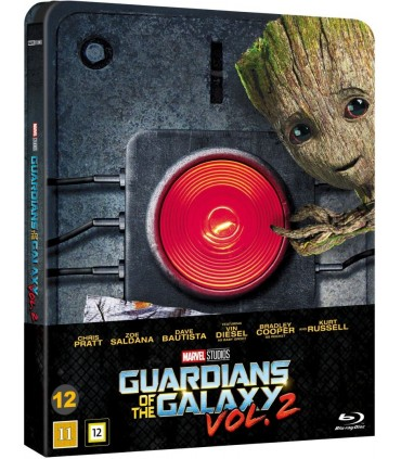 Guardians of the Galaxy Vol. 2 (2017) Steelbook Blu-ray