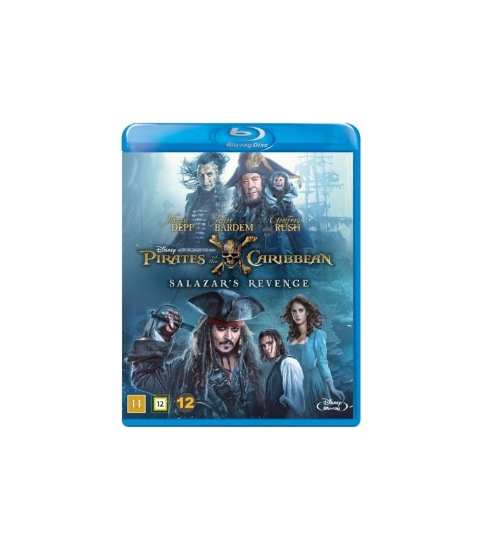 Pirates of the Caribbean: Salazar's Revenge (2017) Blu-ray 6.10.
