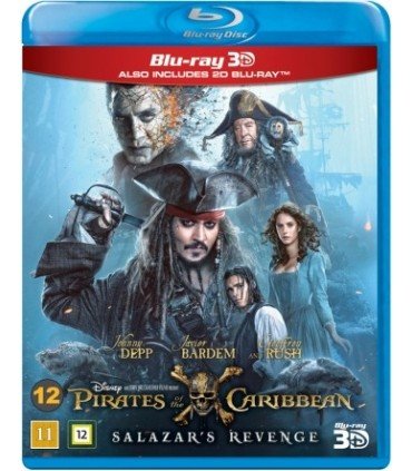 Pirates of the Caribbean: Salazar's Revenge (2017) (3D + Blu-ray)