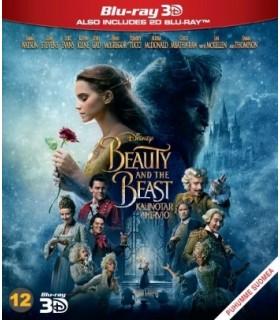 Beauty and the beast - kaunotar ja hirviö (2017) (3D + 2D Blu-ray)