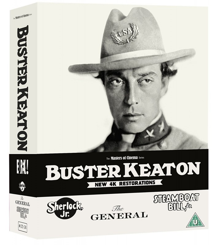Buster Keaton - Collection (3 Blu-ray) 18.10.