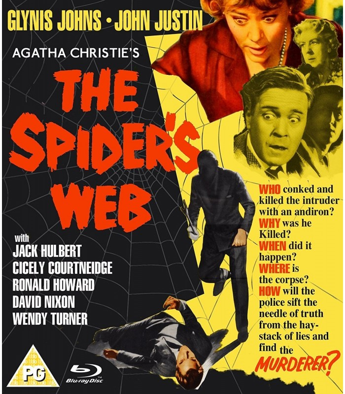The Spider's Web (1960) Blu-ray 6.9.