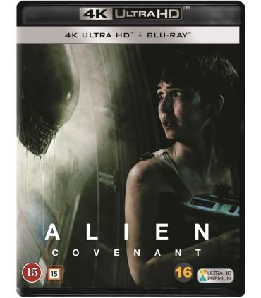 Alien: Covenant (2017) (4K UHD + Blu-ray)
