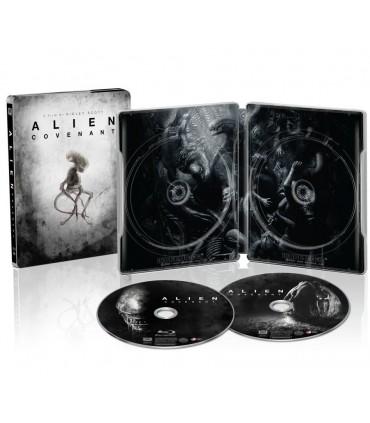 Alien: Covenant (2017) Steelbook (4K UHD + Blu-ray)