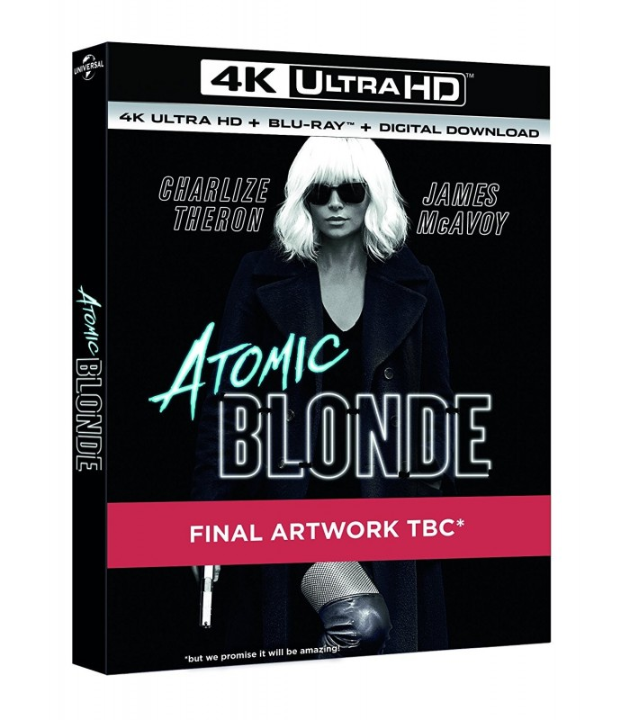Atomic Blonde (2017) (4K UHD + Blu-ray) 13.12.