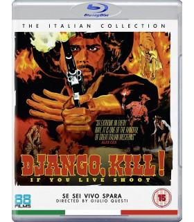 Django Kill... If You Live, Shoot! (1967) Blu-ray 27.9.
