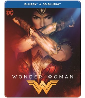 Wonder Woman (2017) Steelbook (3D + 2D Blu-ray) 9.10.