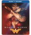 Wonder Woman (2017) Steelbook (3D + 2D Blu-ray)