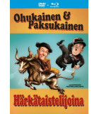 Ohukainen ja Paksukainen härkätaistelijoina (1945) DVD+Blu-ray