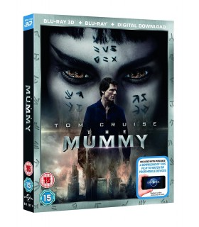 The Mummy (2017) (3D + 2D Blu-ray) 23.10.