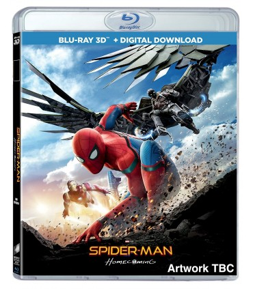 Spider-Man: Homecoming (2017) (3D + 2D Blu-ray)