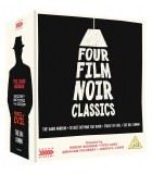 Four Film Noir Classics - Limited Edition (1949 - 1955) (4 Blu-ray + 4 DVD)