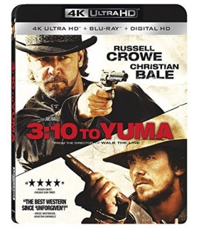 3:10 to Yuma (2007) (4K UHD + Blu-ray)