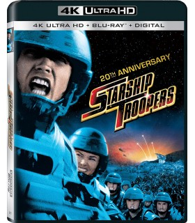 Starship Troopers (1997) 20th Anniversary (4K UHD + Blu-ray) 18.9.