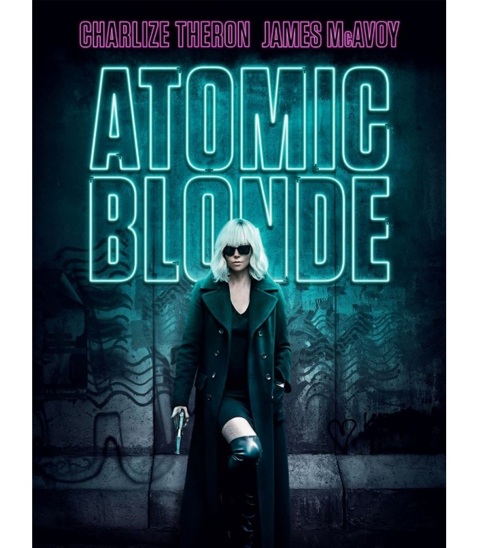 Atomic Blonde (2017) Blu-ray 4.12.