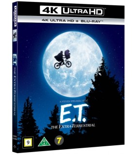 E.T. the extra-terrestrial (1982) (4K UHD + Blu-ray) 18.9.